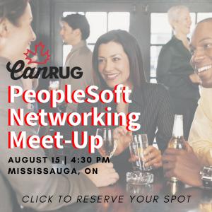 PeopleSoft Networking Meet-Up
