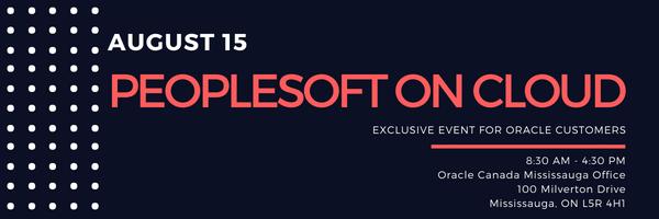 PeopleSoft on Cloud